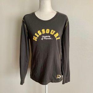 University Of Missouri Athletics Long Sleeve Tee